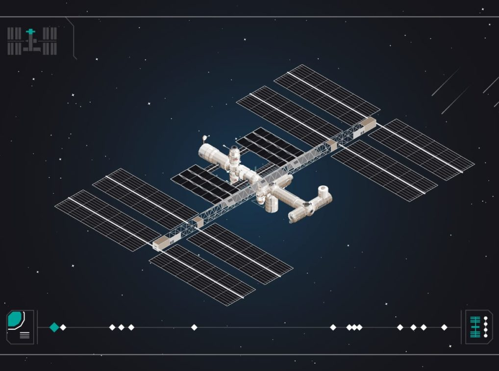 IlIllustration of International Space Station