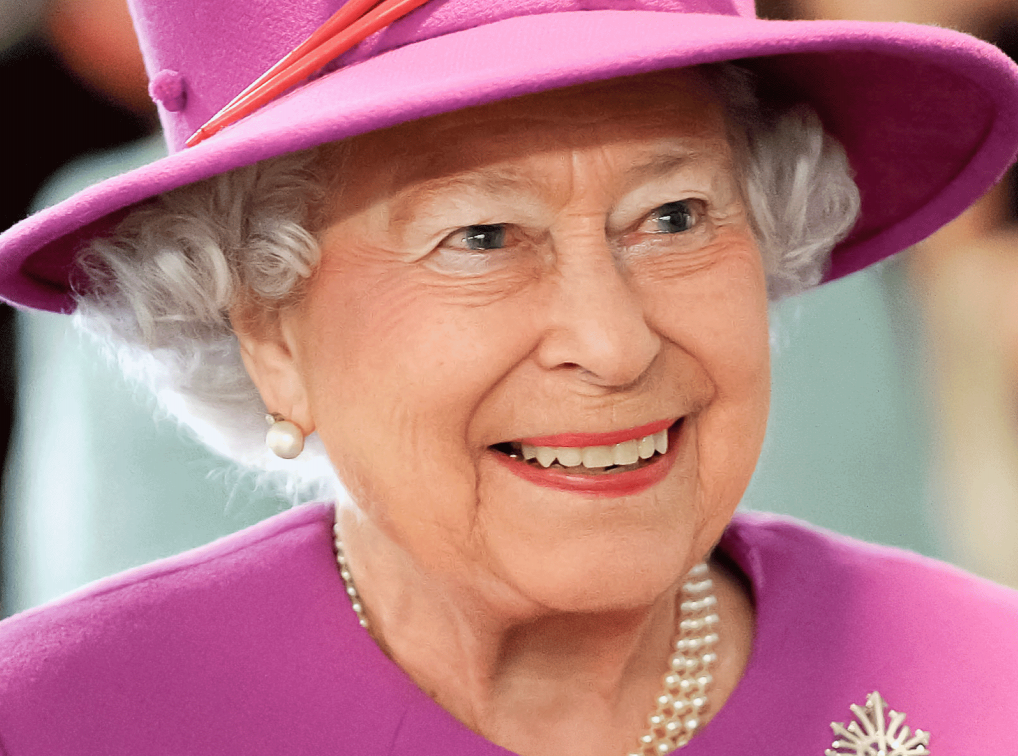 Close up picture of Queen Elizabeth II