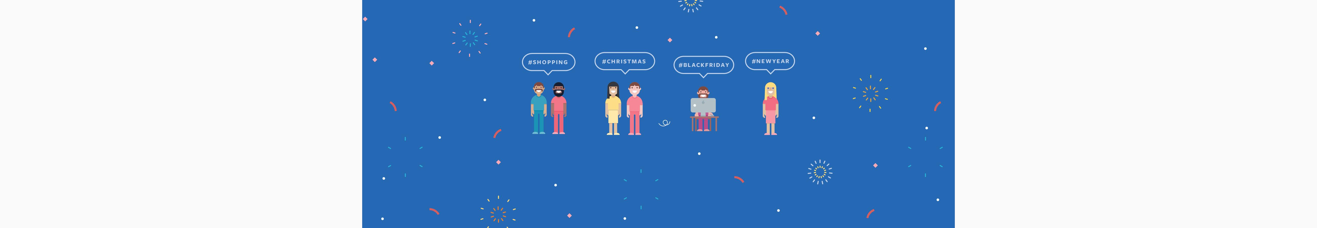 Picture of 'Festive Conversations' illustration